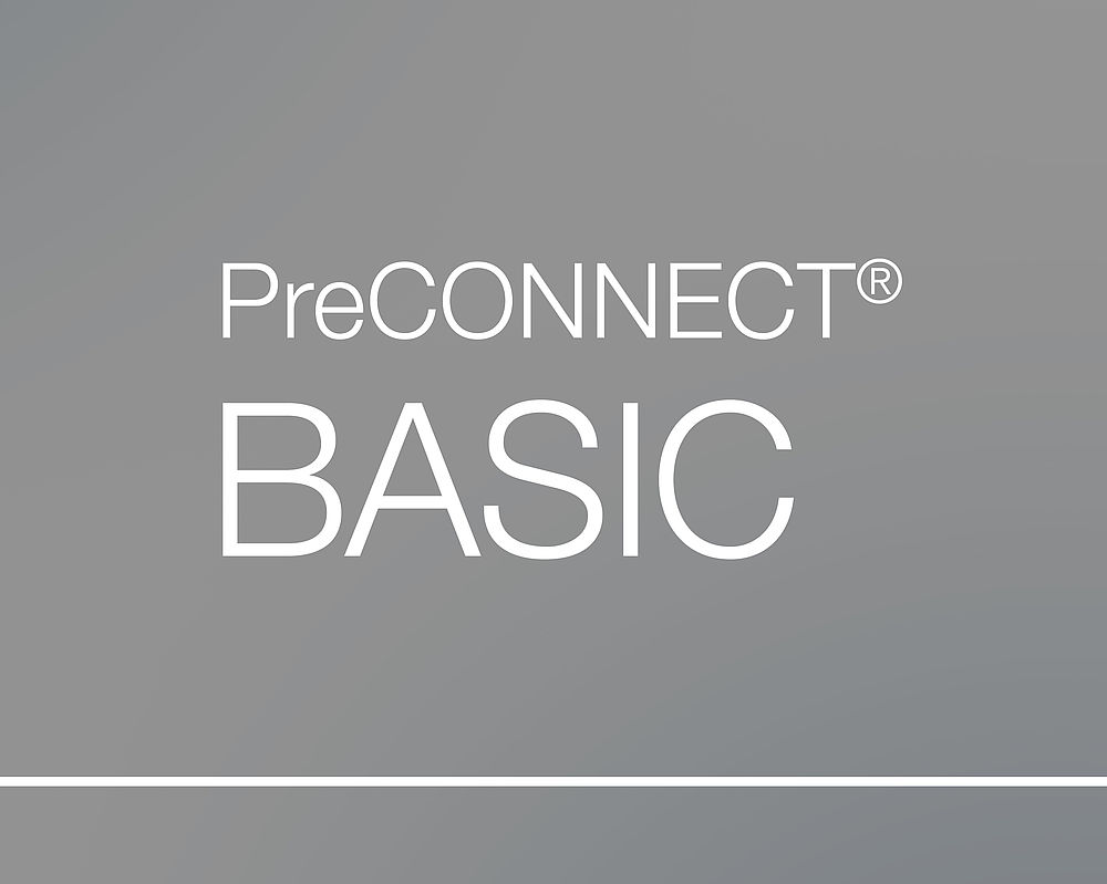 PreCONNECT® BASIC